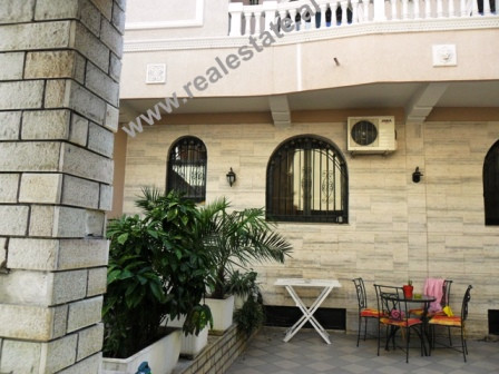 Villa for rent in Mine Peza Street in Tirana.