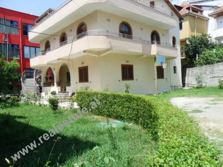 Three storey villa for rent close to American Residence in Tirana.