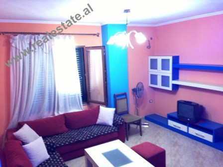 Two bedroom apartment for rent close to Casa Italia shopping center in Tirana.