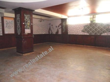 Business space for rent close to Myslym Shyri Street in Tirana.