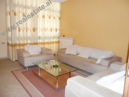 Two bedroom apartment for rent in Sami Frasheri Street in Tirana. This property is located in the m