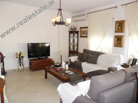 Two bedroom apartment for rent in Kodra Diellit Residence in Tirana.