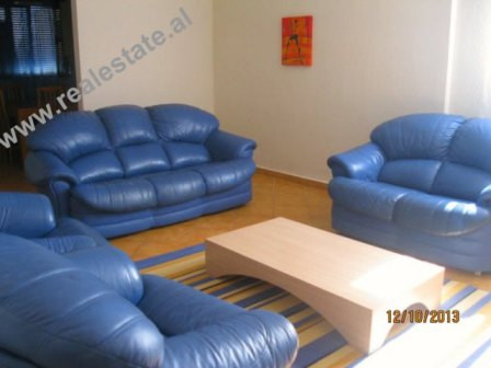 Two bedroom apartment for rent close to New York University of Tirana.