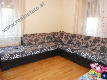 Two bedroom apartment for rent close to Myslym Shyri Street in Tirana. The flat is situated on the