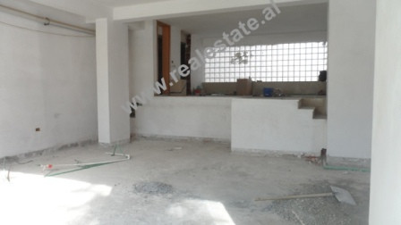 Business store for rent close to Gjergj Fishta Boulevard in Tirana.