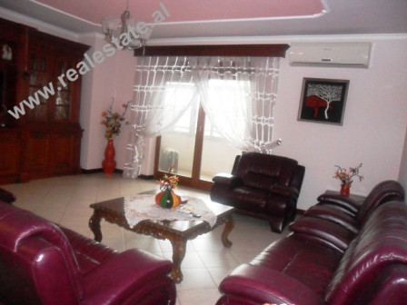 Two bedroom apartment for rent close to the Train Station in Tirana. The apartment is located in th