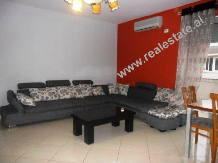 Two bedroom apartment for rent close to Vizion Plus in Tirana.  This flat is situated on the 6th f