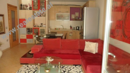 Two bedroom apartment for sale in Zogu Zi area in Tirana. The flat is situated on the 12th and last