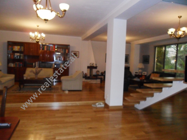Duplex apartment for rent in Ali Visha Street in Tirana, very close to the main streets in Tirana.