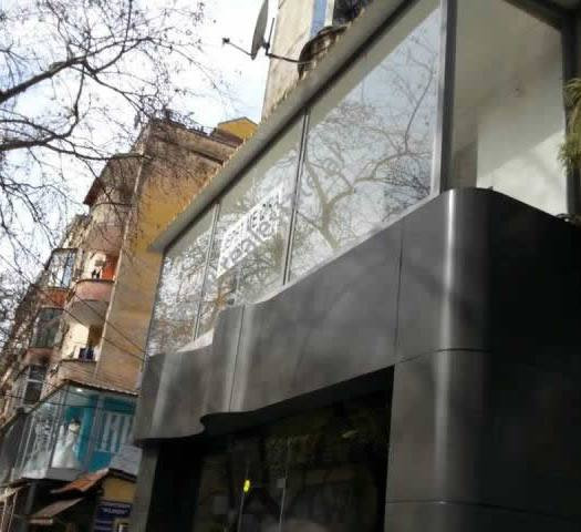 Store space for rent in Myslym Shyri Street in Tirana.