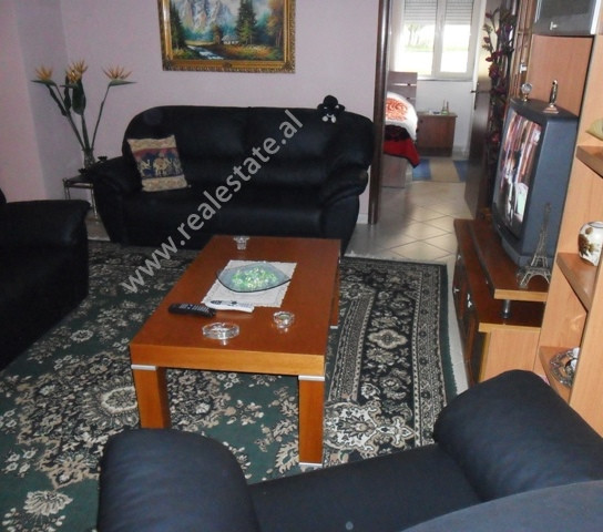 Two bedrooms apartment for rent in Hasan Alla Street in Tirana. The flat is situated on the first fl