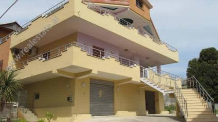 Two storey villa for rent in Hajredin Kumbaro Street in Tirana.