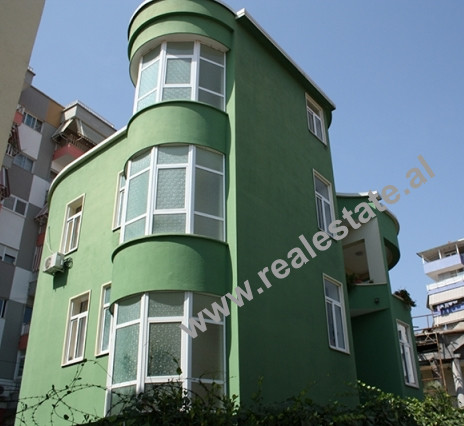 Three Storey Villa for sale in Bilal Golemi Street in Tirana.