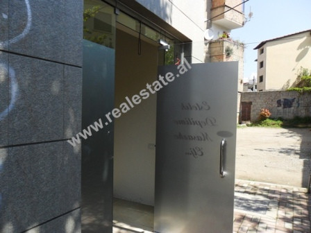 Store space for sale in Pjeter Budi Street in Tirana.