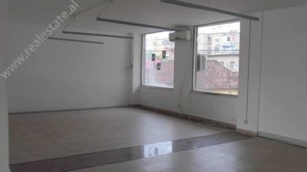 Office space for rent near Kavaja Street in Tirana.  The space is situated on the 2nd floor of a n