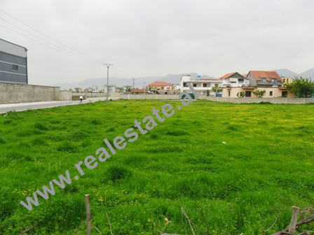 Land for sale in Industrial Street in Albania.