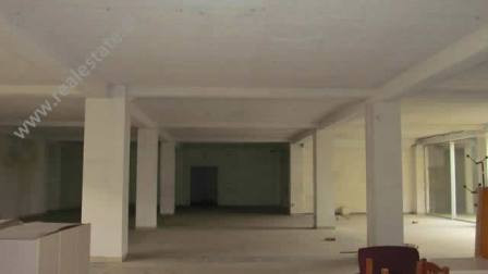 Business store for rent close to Myslym Shyri Street in Tirana. The store is situated on the ground