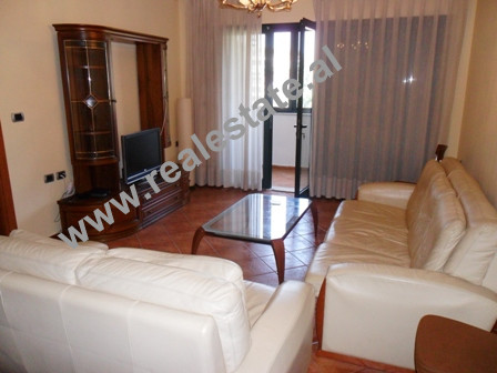 Two bedroom apartment for rent in Ibrahim Rugova Street in Tirana.