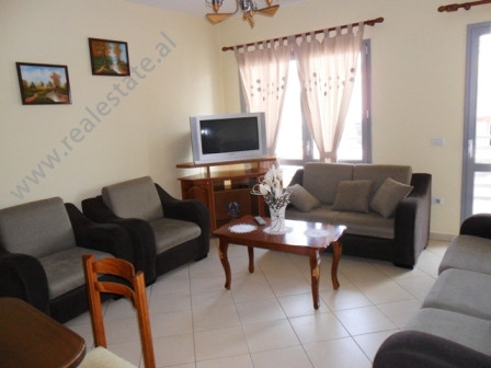 Two bedroom apartment for rent in Zogu Zi area in Tirana. The flat is located in a new complex buil