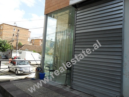 Store space for sale in Frosina Plaku Street in Tirana.