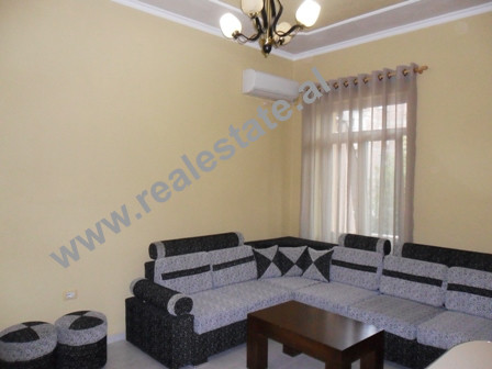 One bedroom apartment for rent in Mihal Popi Street in Tirana. The apartment is situated on the sec
