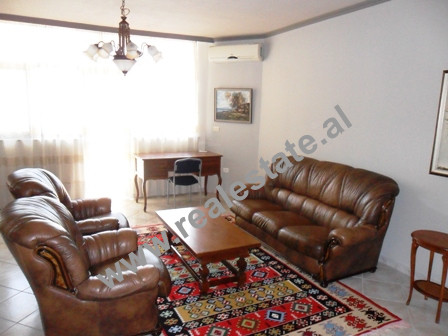 Three bedroom apartment for rent in Zogu i 1 Boulevard in Tirana. The apartment is situated on the 8