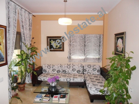 Two bedroom apartment for rent in Peti Street in Tirana. The apartment is situated on the second fl