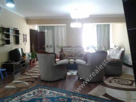 Apartment for rent in Tish Daija Street in Tirana. The apartment is positioned on the 6th floor of a