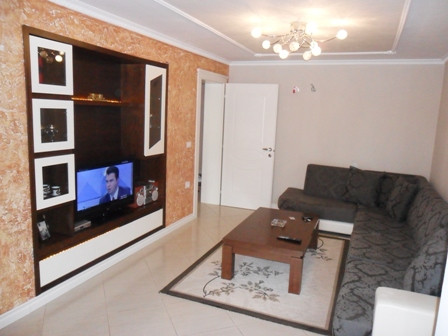 Apartment for rent in Frosina Plaku Street. It is located on the 5-th floor in an old building with