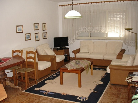 Apartment for rent close to Tirana's Park. The apartment is positioned on the 9th floor of a n