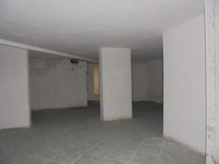 Warehouse for sale in Tish Dahia Street in Tirana.The warehouse is on the underground floor of a new