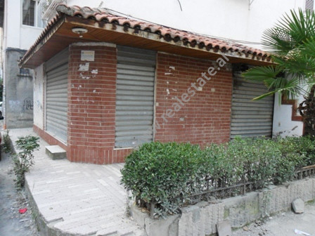 Store space for sale near Margarita Tutulani Street in Tirana.