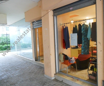 Store space for sale in Eshref Frasheri Street in Tirana.