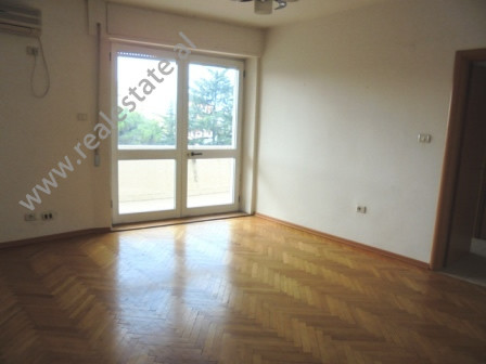 Unfurnished apartment for rent in Embassies Area in Tirana. The apartment is located in one of the m