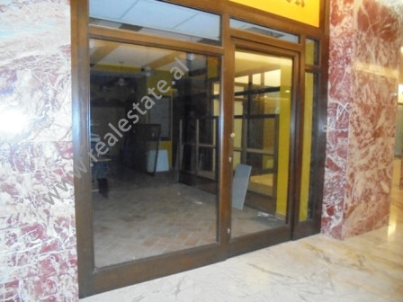 Coffee bar for rent in Abdi Toptani Street in Tirana.The store is situated on the first floor of a s