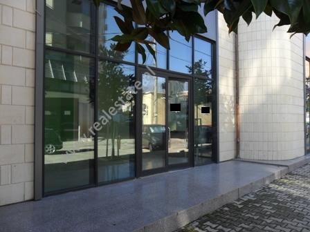 Store space for rent in Beqir Luga Street in Tirana.