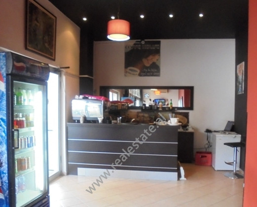 Coffee bar for sale in Zogu I Boulevard in Tirana.It is situated on 1-st floor of a new building on