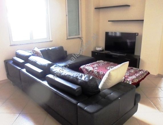 Apartment for rent in Ibrahim Rugova street in Tirana.It is situated on the 5-th of an existing buil
