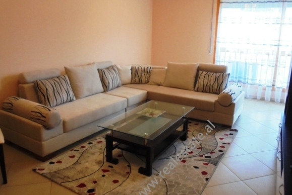 Apartment for rent in Medar Shtylla street in Tirana, Albania. It is situated on the 6-th floor of