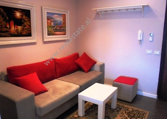 Apartment for rent at the beginning of Sami Frasheri street in Tirana.It is situated on the 6-th flo