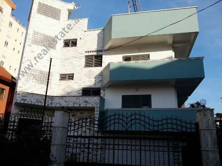 Villa for rent in Kadri Kerciku Street in Tirana. It is located on the side of the main street near