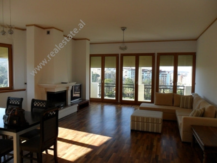Modern apartment for rent in Shyqyri Brari Street in Tirana.