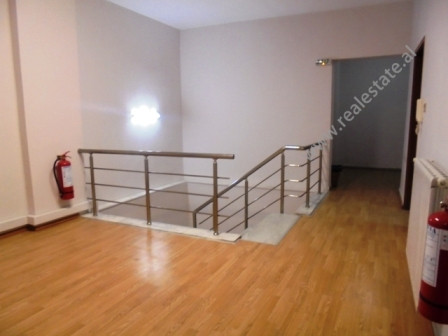 Apartment for sale in Andon Zako Cajupi street in Tirana. The apartment is a duplex form. Situated o
