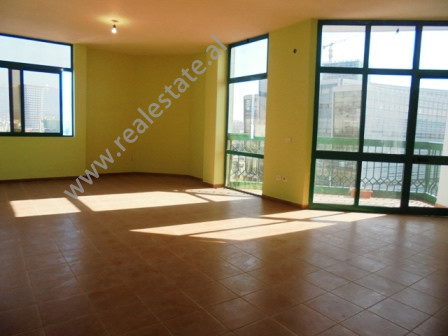 Duplex apartment for rent in the center of Tirana. Positioned on the  9-10th  floor of a n