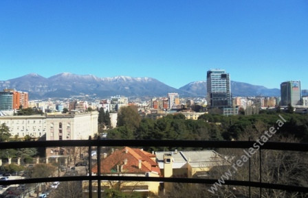 Office for rent in Bllok area in Tirana. With a space of 200 m2 situated in the 8th floor of a new b