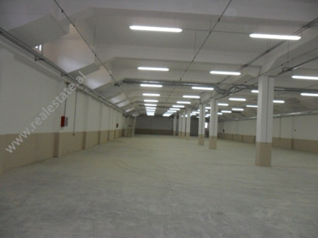 Warehouse for rent in Tirana-Rinas Road.It is situated on the side of the national road, easy access