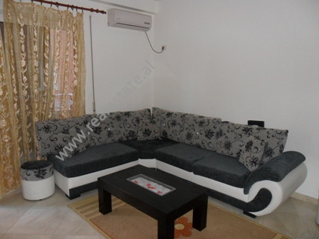 Apartment for rent at the beginning of Peti Street in Tirana. It is situated on the second floor in