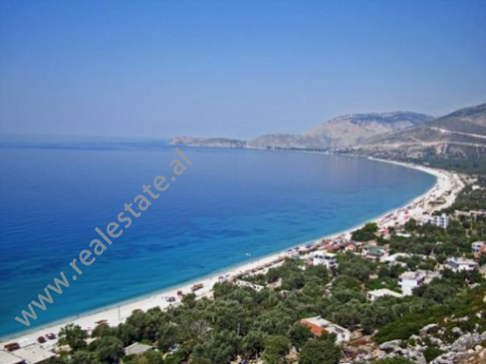 Land for sale in one of the most favorite areas of the Albanian coast. Situated on the beach coastli