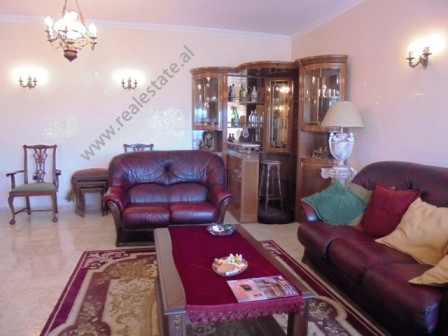 Two bedroom apartment for rent near Qemal Stafa stadium in Tirana. Positioned on the 5th floor of a