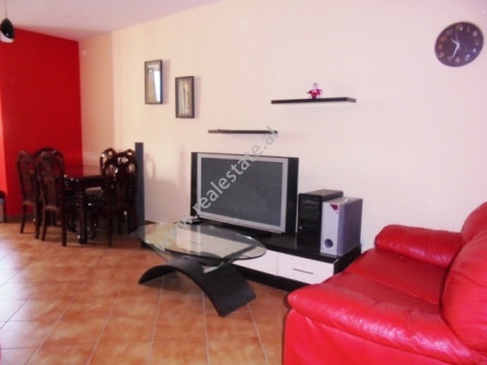 Two bedroom apartment for rent near Myslym Shyri street in Tirana. Located in one of the most peace